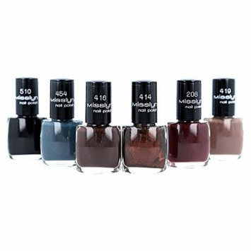 Misslyn Nail Polish 6 Piece Vamp Collection