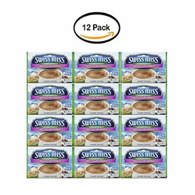 PACK OF 12 - Swiss Miss Sensible Sweets No Sugar Added Hot Cocoa Mix Envelopes, 8-Count