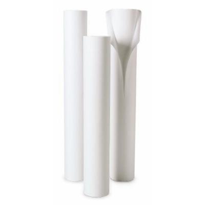 McKesson Table Paper Textured, 21 Inch White - 18 Per Case