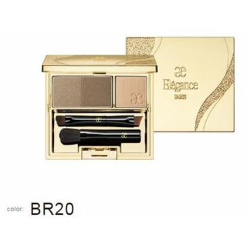 Albion Japan, Elegance Perfect Brow Powder BR20, Eyebrow with brush, New