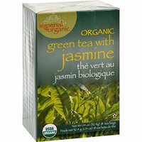 2 Pack of Uncle Lee s Imperial Organic Green Tea with Jasmine - 18 Tea Bags - 95%+ Organic -