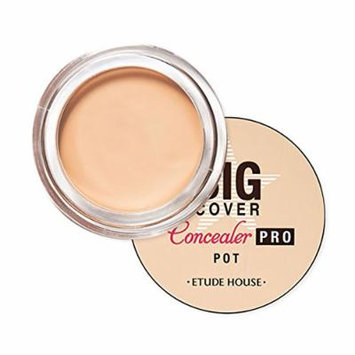 [ETUDE HOUSE] Big Cover Pot Concealer PRO 4g /It will be shipped with tracking number (#Beige)