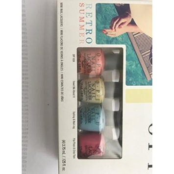 mini set nail polish retro summer