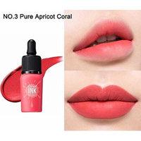 PERIPERA Cloud INK Velvet 8g(0.28oz) Lip Lacquer Lip Tint (NO.3 Pure Apricot Coral)