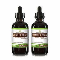 Organic Vanilla Bean Dried Bean Alcohol Tincture Supplement