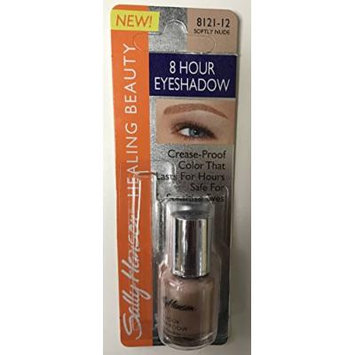 2 Sally Hansen healing Beauty 8 Hour Eyeshadow SOFTLY NUDE 8121-12 pack of 2