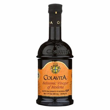 Colavita Fruttati Balsamic Vinegar - Apple - Case of 6 - 17 Fl oz.
