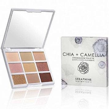 SERAPHINE BOTANICALS Chia + Camellia - Eyeshadow Palette