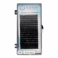 BioTouch Premium Salon Quality Mink EYE LASH Extensions Professional lash extensions CC-Curl Tray (0.10x9mm)