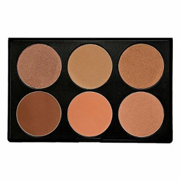 KARA Makeup Palette HL07 - 6 color Highligher
