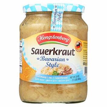 Hengstenberg Sauerkraut - Bavarian Style - Case of 12 - 24.3 oz.