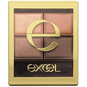 Japan Excel skinny rich shadow SR03 Royal Brown eye shadow Makeup
