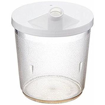 Patterson Medical Clear Cup with Snorkel Lid