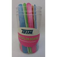 Trim Neon Salon Nail Boards in Round Display ~ 12 count