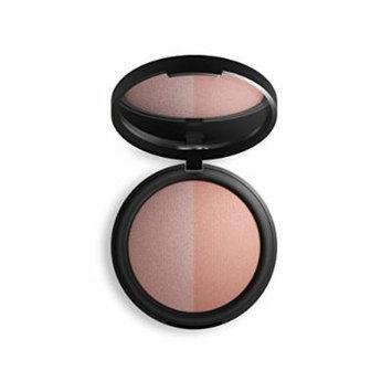 Inika Baked Mineral Blush Duo, Natural Make-Up Formula, Healthy Glow, Vegan 8g (0.28 oz) (Pink Tickle)