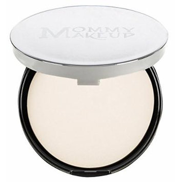 Mommy Makeup Mineral Dual Powder SPF15 [4-in-1 Pressed Mineral Foundation] 0.45 ounce - Oil-free, Talc-free, Fragrance-free, Paraben-free - Baby's Breath