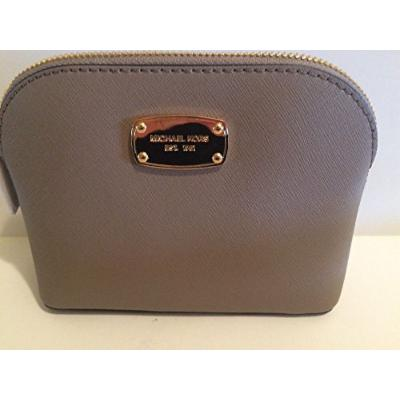 Michael Kors Cindy Dark Taupe Cosmetic Bag