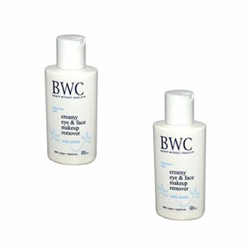 Beauty Without Cruelty Creamy Eye Make-up Remover, 4 fl. oz ( Pack of 2)