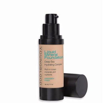 Youngblood Mineral Cosmetics Liquid Foundation, Belize, 1 Fluid Ounce