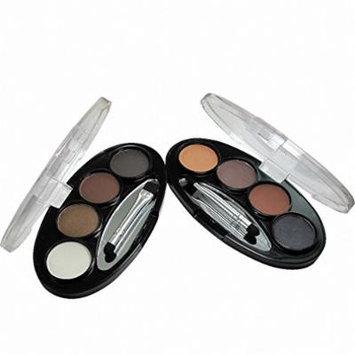 Long-lasting Waterproof Shadow Eyebrow power Kit Eye Brow Pen Make Up Powder Shaper Lining Cosmetic Makeup Tool 1 2 cor
