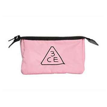 3CE 3 Concept Eyes Small Size Pink Makeup Pouch