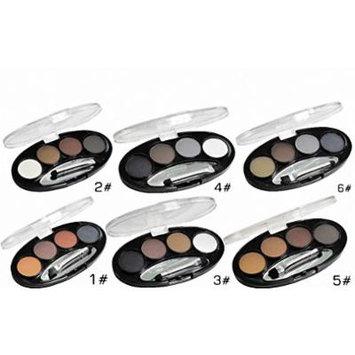 Long-lasting Waterproof Shadow Eyebrow power Kit Eye Brow Pen Make Up Powder Shaper Lining Cosmetic Makeup Tool 1 to 6