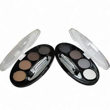 Long-lasting Waterproof Shadow Eyebrow power Kit Eye Brow Pen Make Up Powder Shaper Lining Cosmetic Makeup Tool 4 5 cor