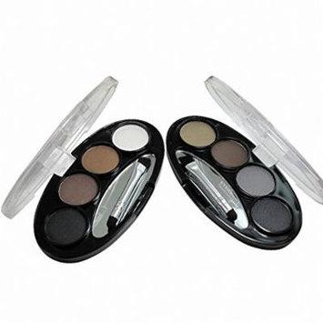 Long-lasting Waterproof Shadow Eyebrow power Kit Eye Brow Pen Make Up Powder Shaper Lining Cosmetic Makeup Tool 3 6 cor
