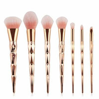 Professional Diamond Rainbow Handle Makeup Brushes Set Foundation Face Powder Eye Shadow Lip Beauty Cosmetic Makeup Tools MAG5332
