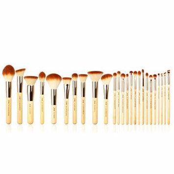 25pcs Beauty Bamboo Professional Makeup Brushes Set Make up Brush Tools kit Foundation Powder Blushes Eye Shader