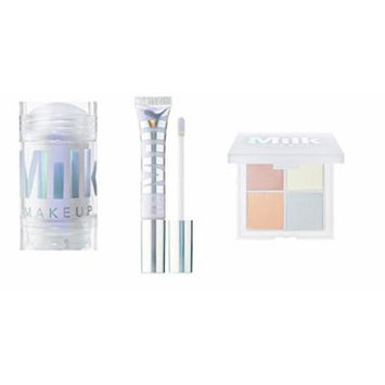 Milk Makeup Holographic Stick, Lip Gloss, and Holographic Powder Quad in Supernova