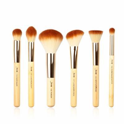 6pcs Bamboo Professional Makeup Brushes Sets Beauty Tools Make up Brush kit Buffer Paint Cheek Highlight Powder