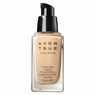 Avon True Colour Flawless Liquid Foundation - Skin With Golden Undertone - Dark Cocoa