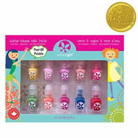 Suncoat Girl, Water-Based Nail Polish Kit, Party Palette, 10 Pieces