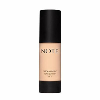 Note Cosmetics Detox & Protect Foundation - (beige)