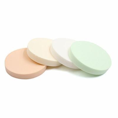 "uxcell 24pcs Round 3.5"" Dia Sponge Foundation BB Cream liquid Facial Makeup Powder Cushion Puff Pads"