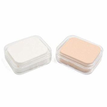 uxcell 36pcs Square Sponge Foundation BB Cream liquid Facial Cushion Puff Pads Beauty Makeup Tool