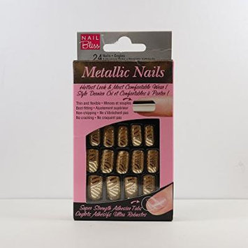 DASHING DIVA Nail Bliss Metallic Nail NBM015 Zoomanity