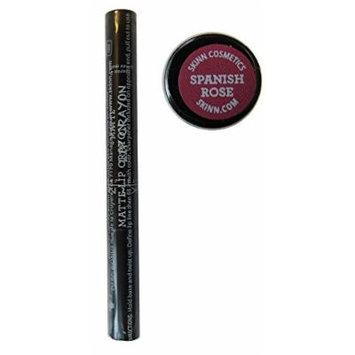 skinn Cosmetics Matte Lip Crayon (Spanish Rose)