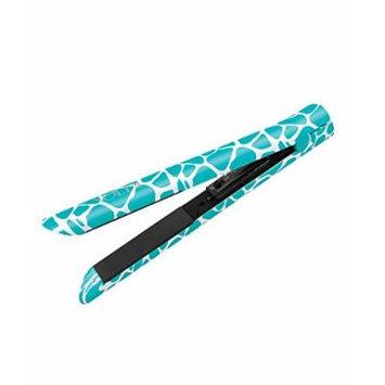 Soleil Ceramic Hair Straightener Aqua Giraffe Design
