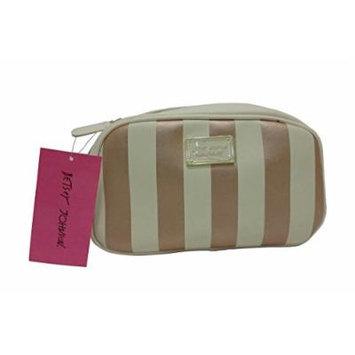 Betsey Johnson Cosmetic Loaf Metallic Bag
