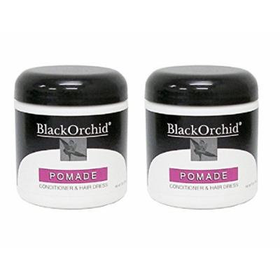 Black Orchid Pomade Conditioner and Hair Dress, 7 Oz (Pack of 2) + FREE Curad Dazzle Bandages, 25 Ct.