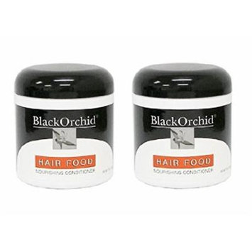 Black Orchid Hair Food Nourishing Conditioner, 7 Oz (Pack of 2) + FREE Curad Dazzle Bandages, 25 Ct.