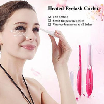 Eyelash Curler Heated 15s Pen Style Mini Portable Long Lasting Curled Lashes Makeup Tools TB-0726