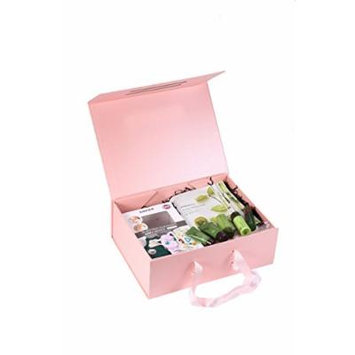 Beauty Kit Facial Cleaning Brush Innisfree Products Spa Headband Facemasks Tonymoly (Lg Pink box w Brush)