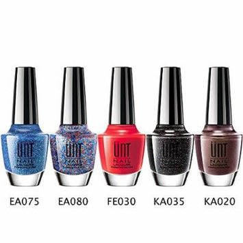 UNT Nail Polish Nail Lacquer Set, 5 Pcs Finger Nail Polish Enamel, 15ml/0.5oz W Free Gift (Set 3)
