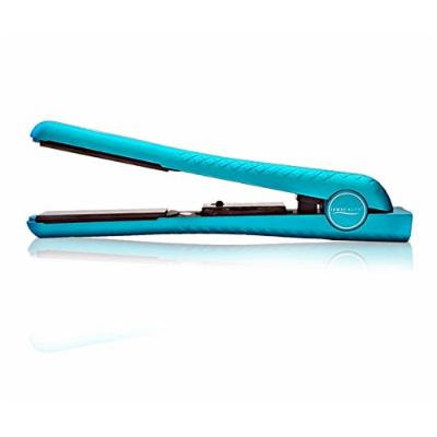 Iso Beauty Diamond Collection Super Spectrum Pro Hair Straightener Flat Iron W/ 1.25 Inch Ceramic and adjustable temperature control of 180-450°F (Turquoise)