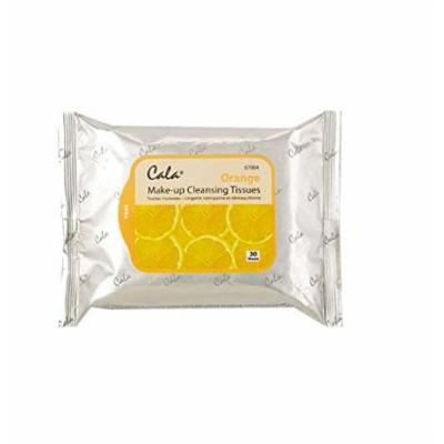 (PACK OF 3) CALA STUDIO Makeup Remover Cleansing Tissue - Orange (30 Sheets) #67004
