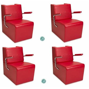 Salon Hair Dryer Chair 4 RED EDISON Salon Barber Shop Beauty Salon Furniture & Equipment