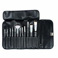 MAX 12PCS Makeup Portable brush set with Cosmetic Bag